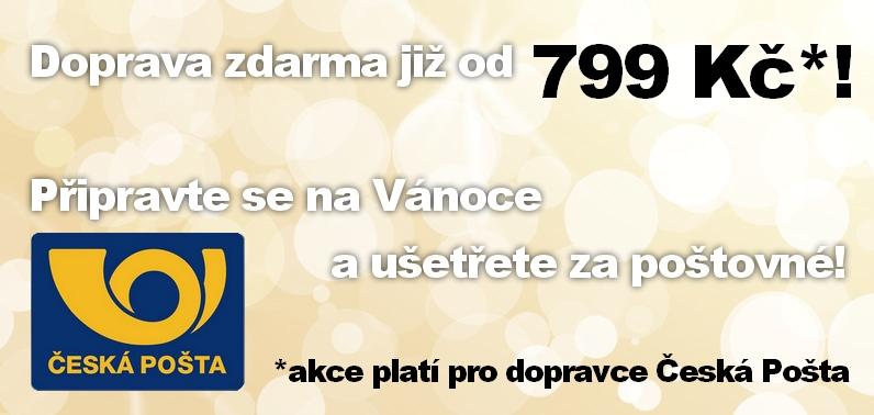 Doprava po Hradci Králové ZDARMA - Od 499 Kč ZDARMA, pro menší objednávky symbolických 49 Kč.